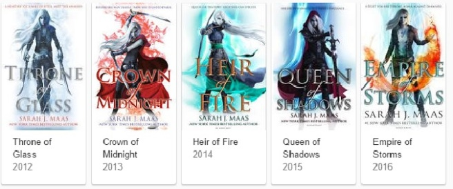 throne-of-glass-series